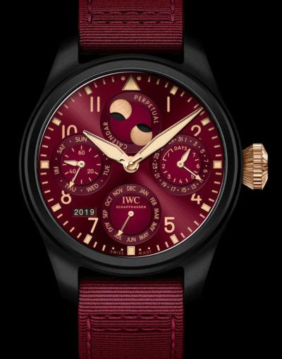 "AAA IWC Releases ""Lewis Hamilton"" Edition Big Pilot's Watch Perpetual Calendar Replica Watches"